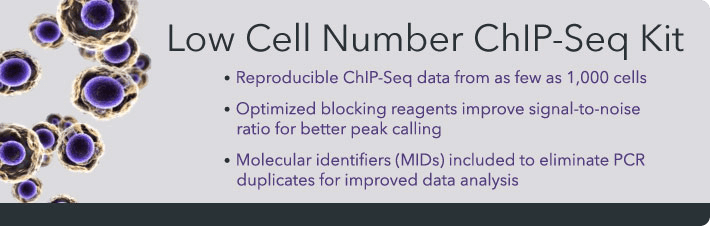 Low Cell ChIP-Seq