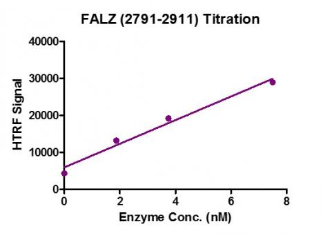 HTRF Assay for Recombinant BPTF / FALZ (2791-2911) activity.