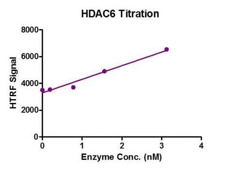 HTRF assay for HDAC6 activity
